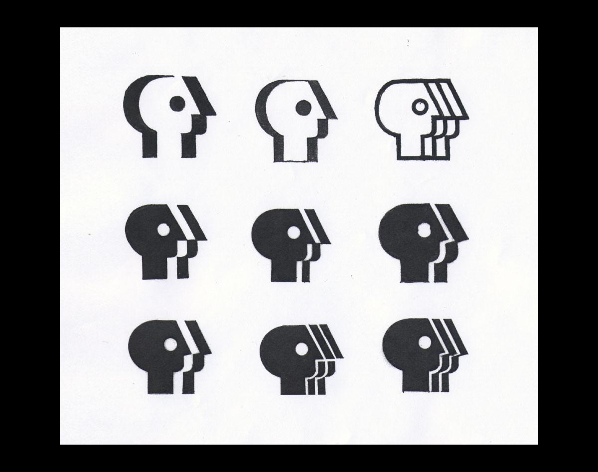 PBS logo sketch