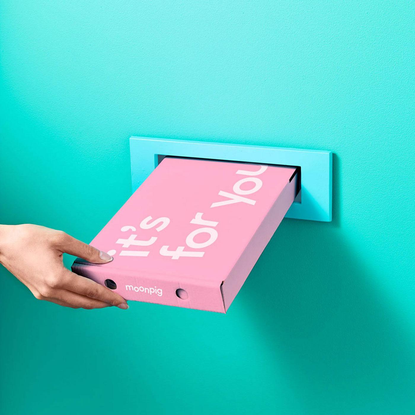 Moonpig letterbox