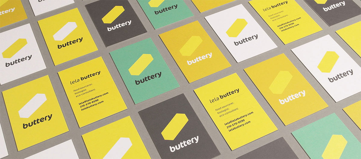 Lela Buttery business cards