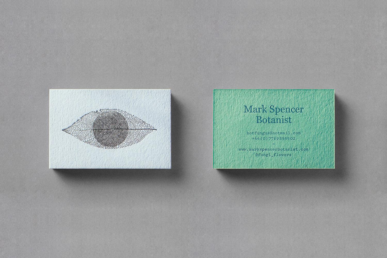 Mark Spencer forensic botanist cards
