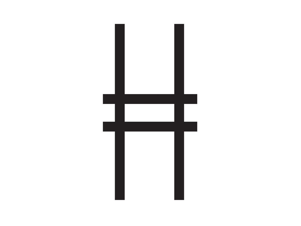 Highline logo Pentagram